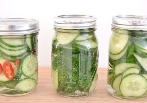 Collect cucumbers