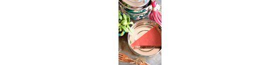 Rabarber aardbeien taart