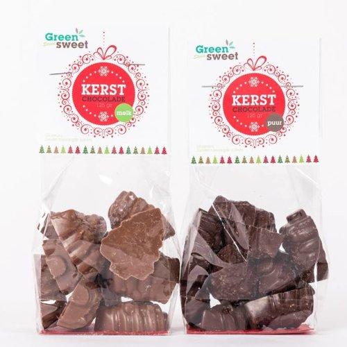 Greensweet Chocolade kerstboompjes