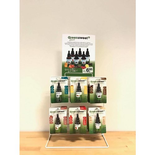 Greensweet-Stevia Display liquid stevia