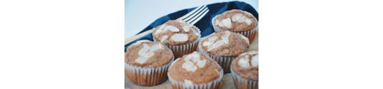 Healthy speculaas muffins