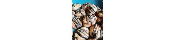 Sweet choco cookies