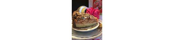 Apple pie with almond paste