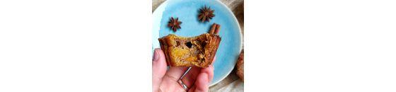Pompoen muffins met pumpkin spice