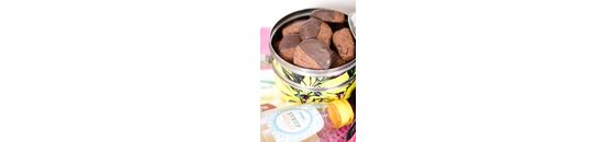 Chocolade speculaas cookies