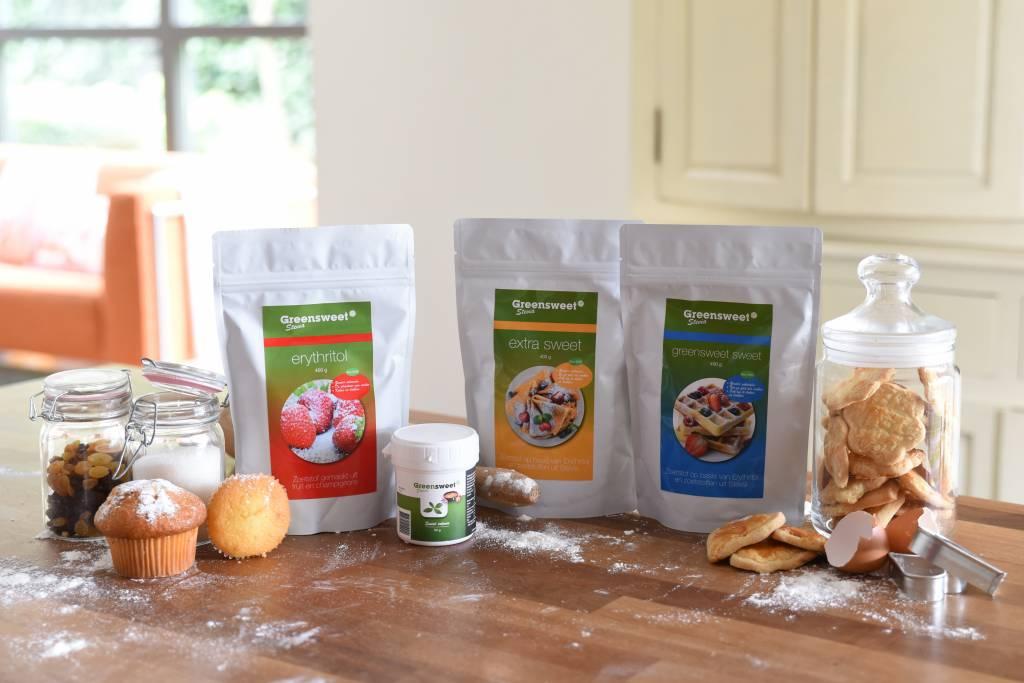 Zuivere stevia + Erythritol gebruiken ter vervanging voor suiker.....hoe liggen de verhoudingen?
