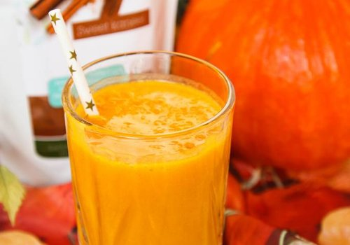 Pumpkin cinnamon smoothie