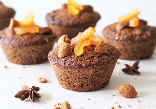 Pepernoot muffins