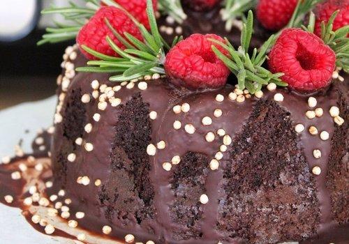 Chocolate turban cake