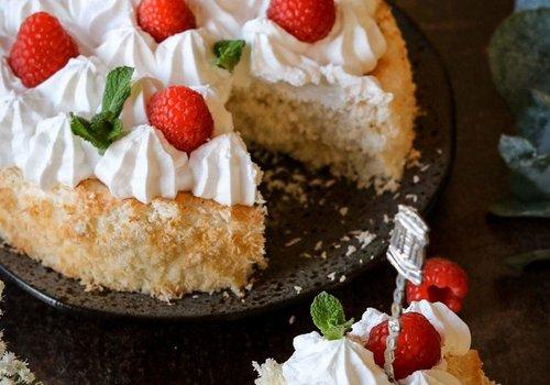 Kokosmakronen cake