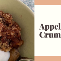 Appel crumble