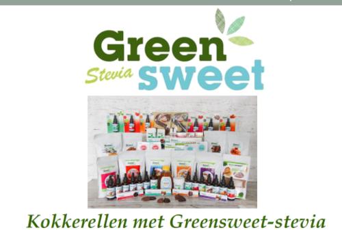 2e digitale receptenboek van Greensweet