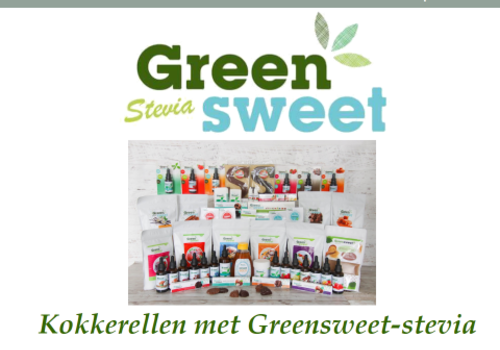 2nd digital recipe book from Greensweet