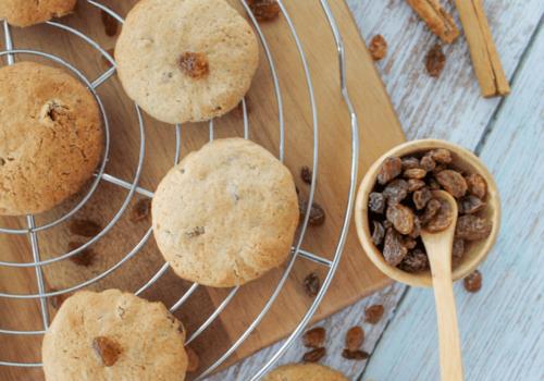 Rozijnen koekjes