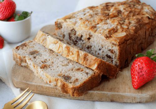 Glutenvrij rozijnen brood