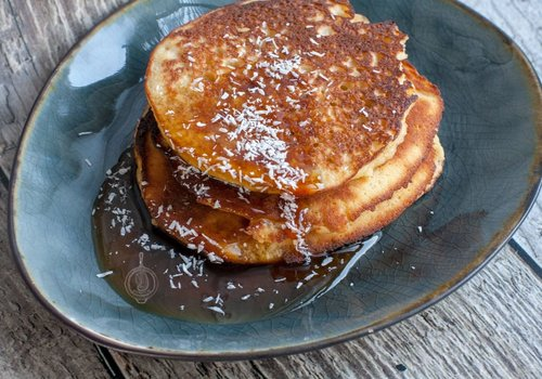 Kokosmeel pancakes