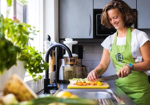 Iris Heuer van GreenTwist Cooking School