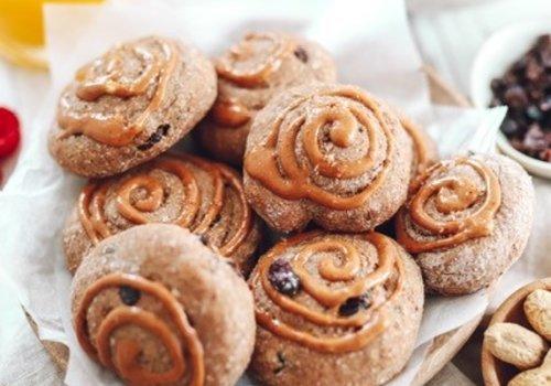 Peanut butter cinnamon buns