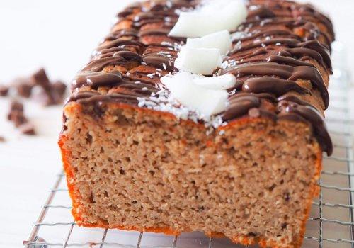 Kokos chocolade cake