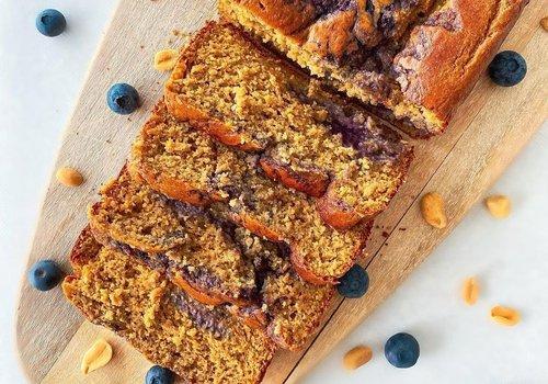 Pindakaas & Jam cake