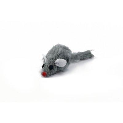 Beeztees Plüsch Maus Grau