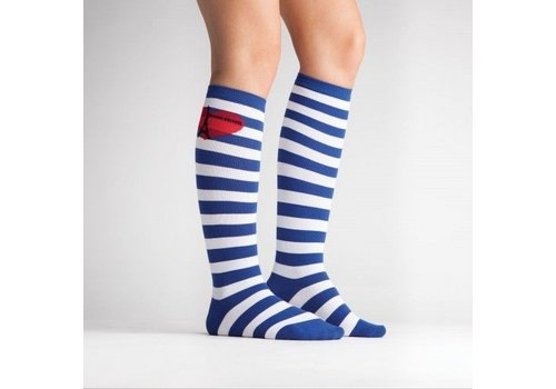 Sock It To Me Bonjour Stripes Socks