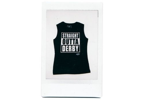 Derby Cult Derby Cult + Straight Outta Derby - Muscle Top