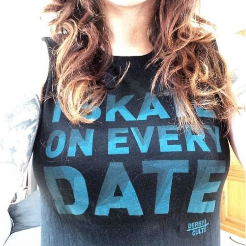 Derby Cult + Skate on Every Date - Muscle Top