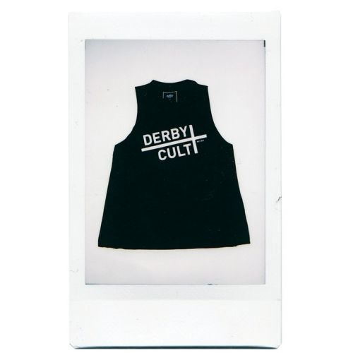 Derby Cult + Logo - High Neck Top