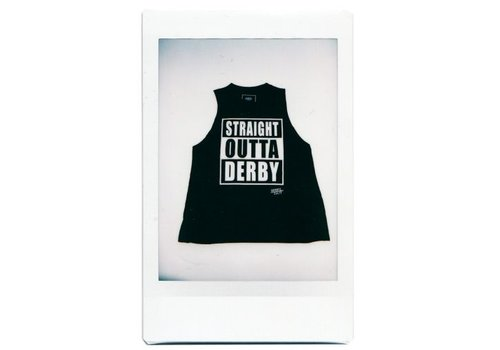 Derby Cult Derby Cult + Straight Outta Derby - High Neck Top