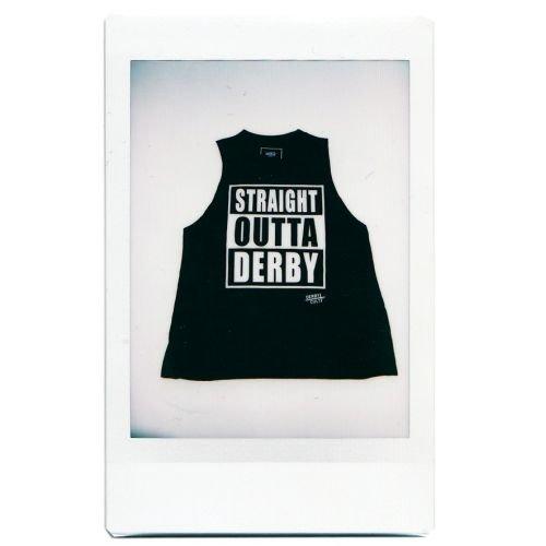 Derby Cult + Straight Outta Derby - High Neck Top