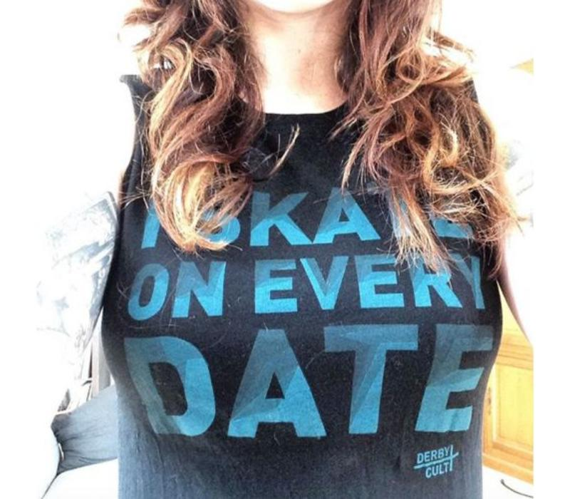 Derby Cult + Skate on Every Date - T-Shirt Female