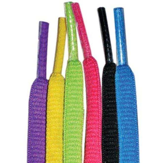 Atom lacets en couleur