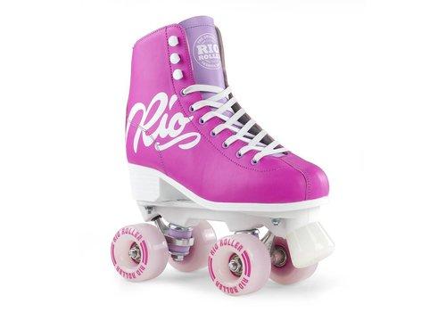Rio Roller Rio Script Pink/Lilac Roller Skates