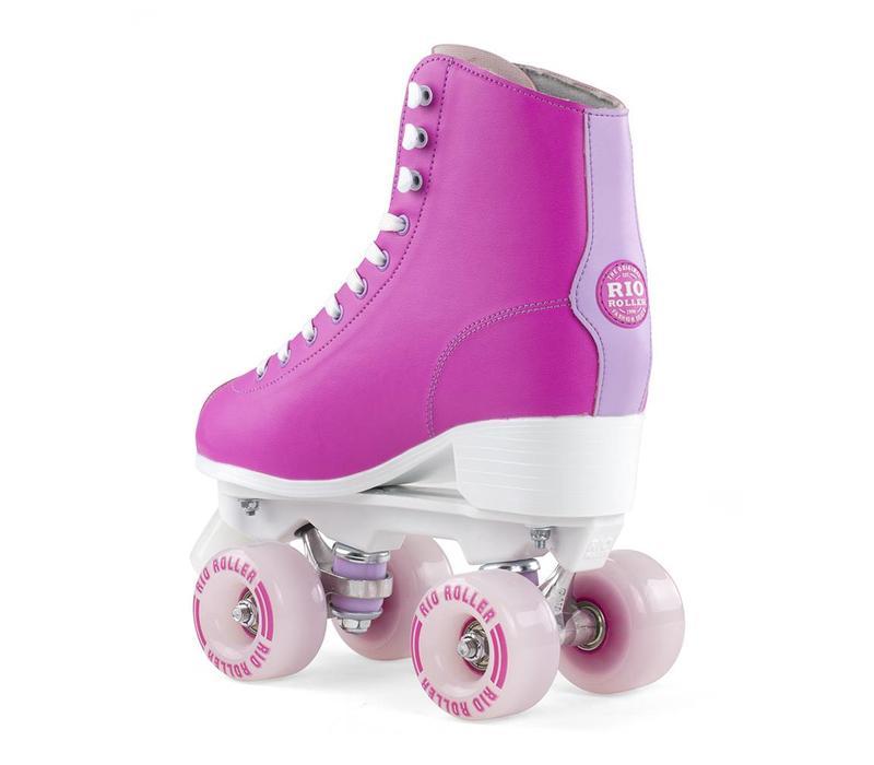 Rio Script Pink/Lilac Roller Skates