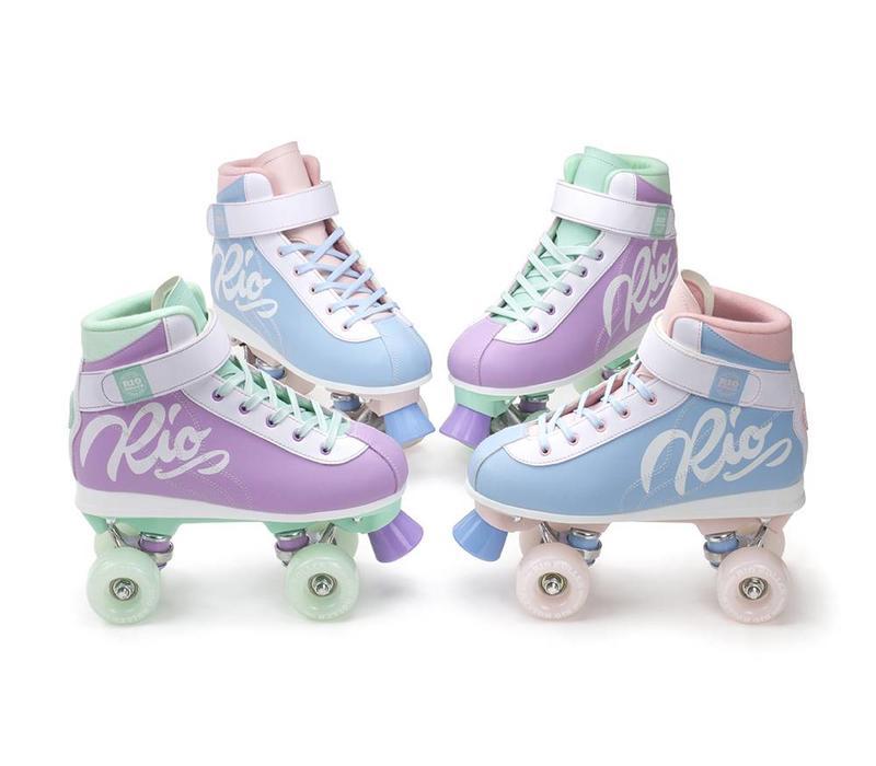 Rio Milkshake Cotton Candy Roller Skates
