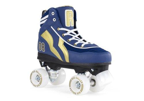 Rio Roller Rio Varsity Blue/Gold Roller Skates
