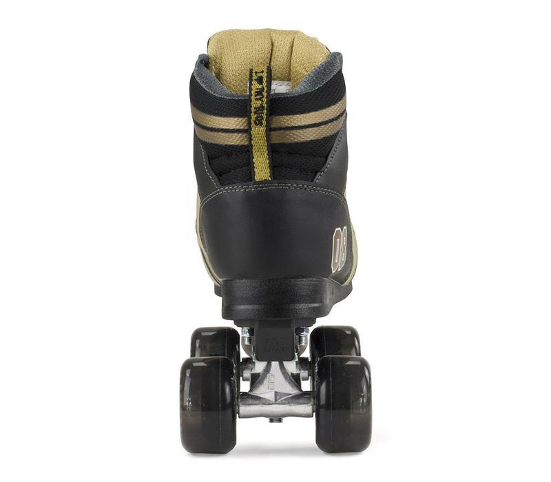 Rio Varsity Zwart/Goud Rolschaatsen