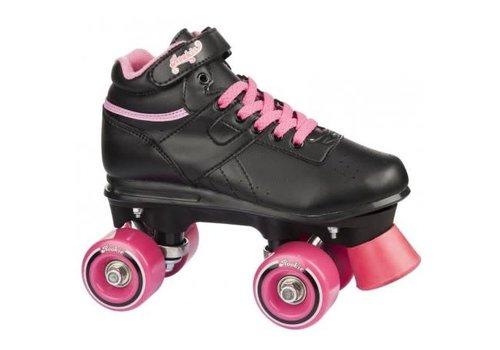 Rookie Rookie Odyssey Zwart/Roze Roller Skates