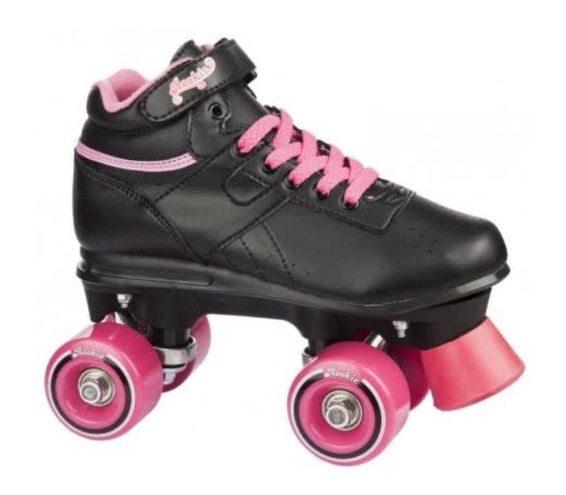 Rookie Odyssey Zwart/Roze Roller Skates