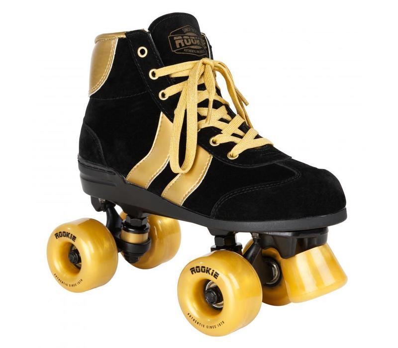 Rookie Authentic Zwart/Goud Roller Skates