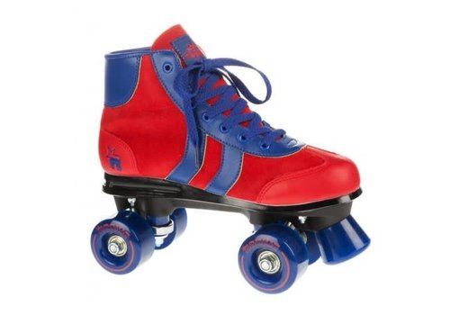 Rookie Rookie Retro**  Red/Blue Roller Skates