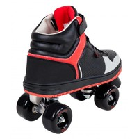 Rookie Hype Black/Red Roller Skates