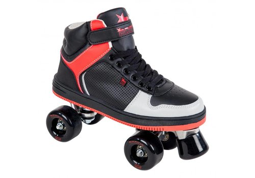 Rookie Rookie Hype Black/Red Roller Skates