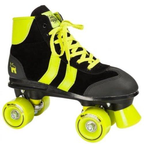 Rookie Retro** Black/Lime Roller Skates