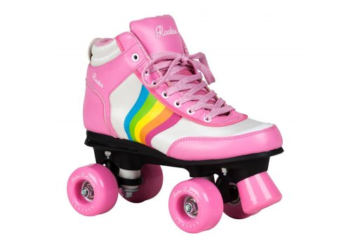 Rookie Rookie Forever Rainbow Pink Roller Skates
