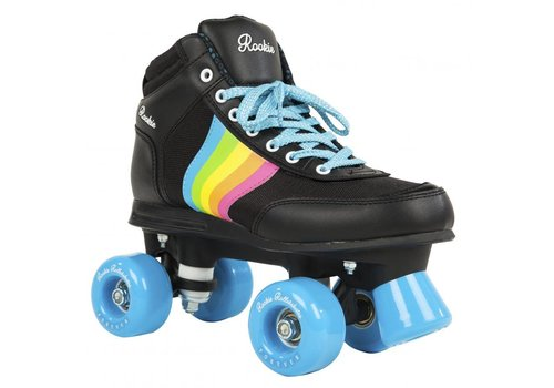 Rookie Rookie Forever Rainbow Black Roller Skates