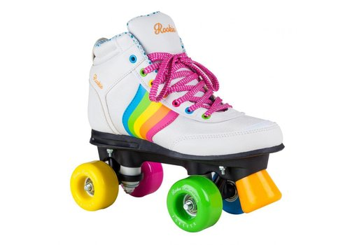 Rookie Rookie Forever Rainbow Witte Roller Skates