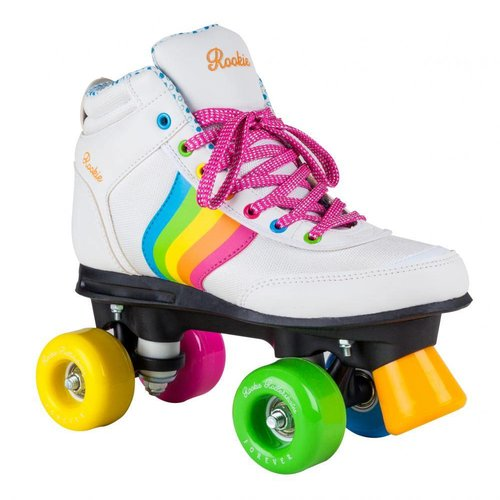 Rookie Forever Rainbow Witte Roller Skates