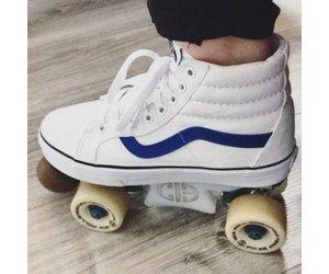 Custom Vans Roller Skates - Sucker